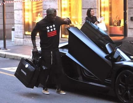 Sulley Muntari reveals all the luxurious cars he owns