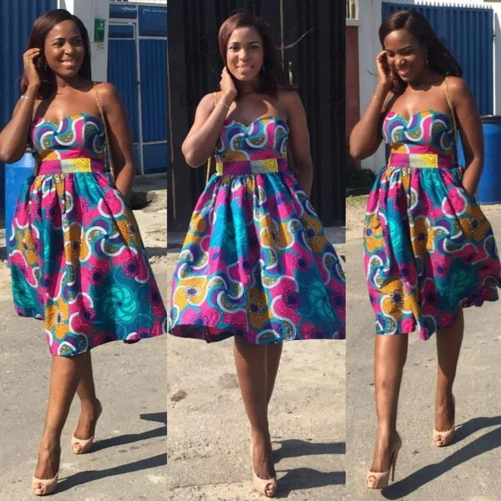 5e1df86cfb Latest African Maternity Dresses for a Fashionable Look 2019 ▷ YEN ...