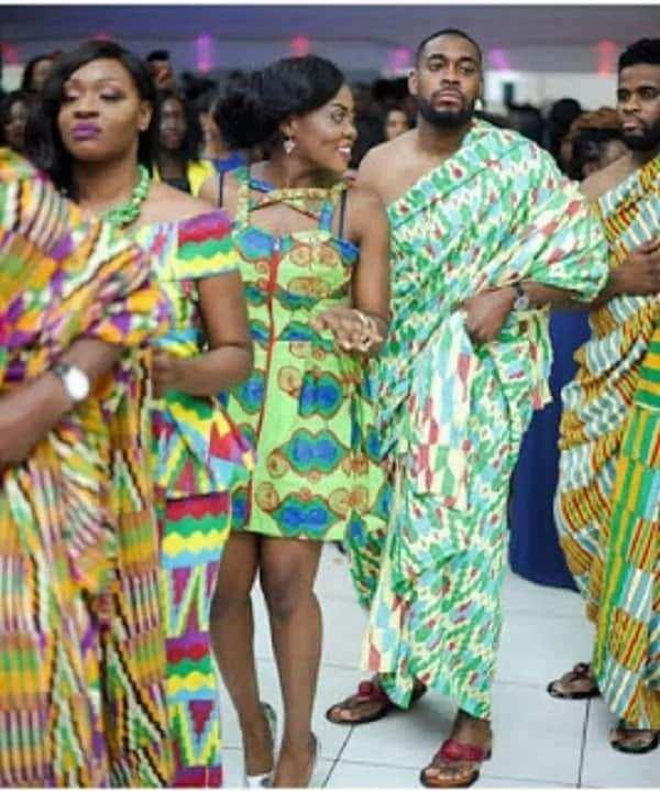 Latest Kente Styles in Ghana 2018