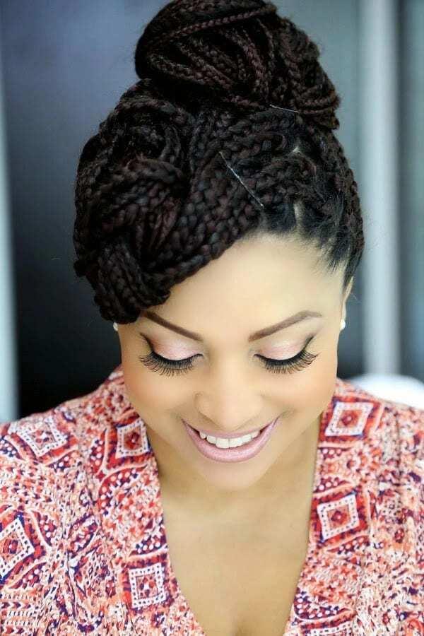 Ghanaian wedding hairstyles