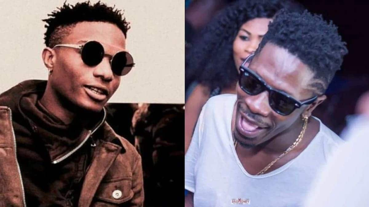 Nigerians on Twitter take shots at Shatta Wale for going after Wizkid
