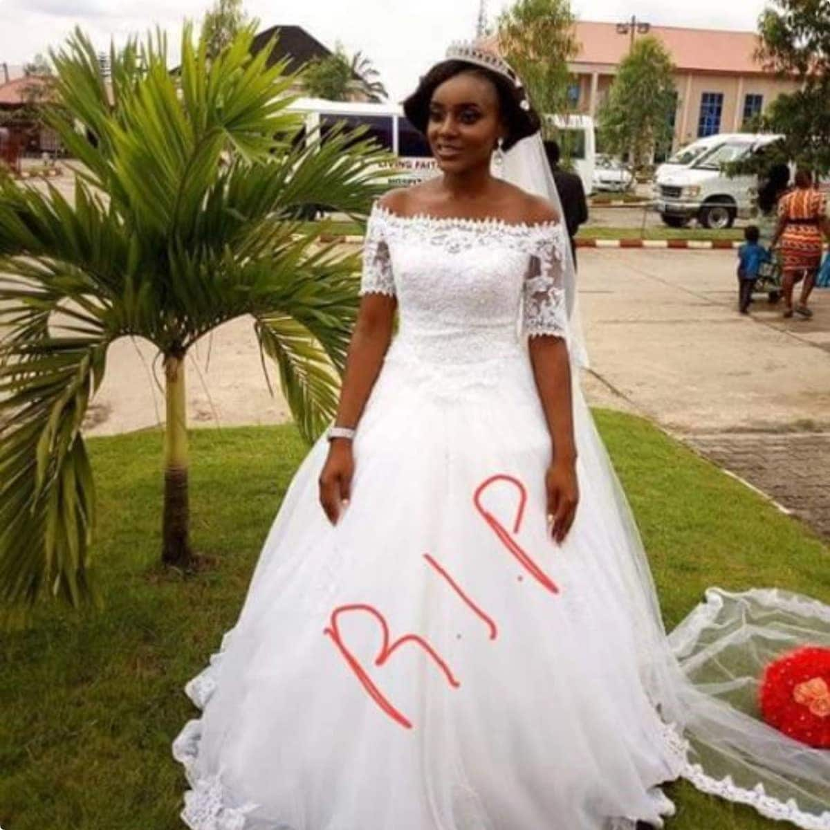 Photos of 24-year-old lawyer who died months after her marriage breaks hearts
