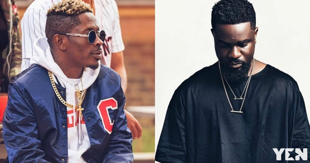 Shatta Wale teases Sarkodie with Benz he got for his birthday