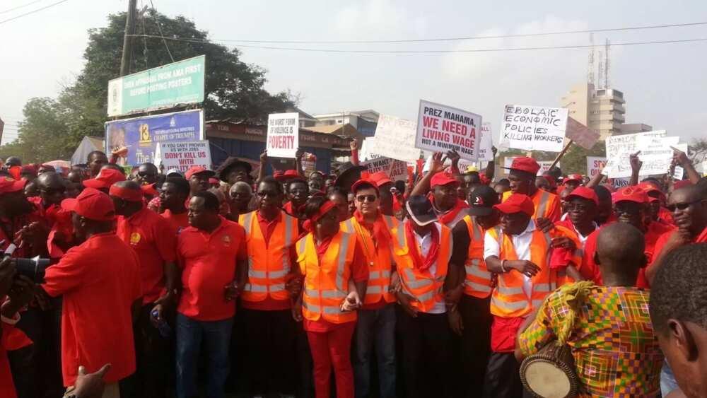University Teachers Association begins indefinite strike over poor conditions of service