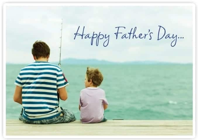father's day message for husband in long distance