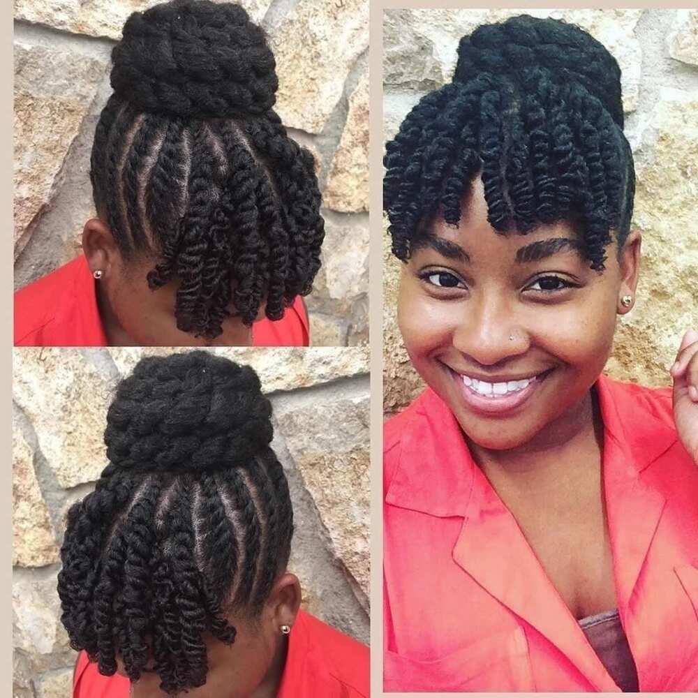 Natural Hair Twist Styles For Long And Short Hair Yen Com Gh