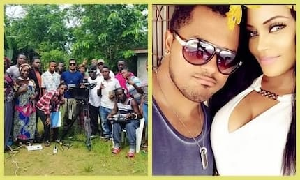 Van Vicker wished a special someone happy birthday from Monrovia, check out who it was