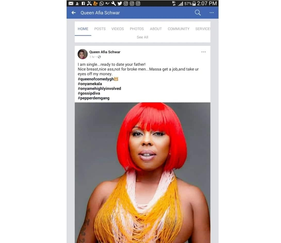 Afia Schwarzenegger is single and ready to date your father!