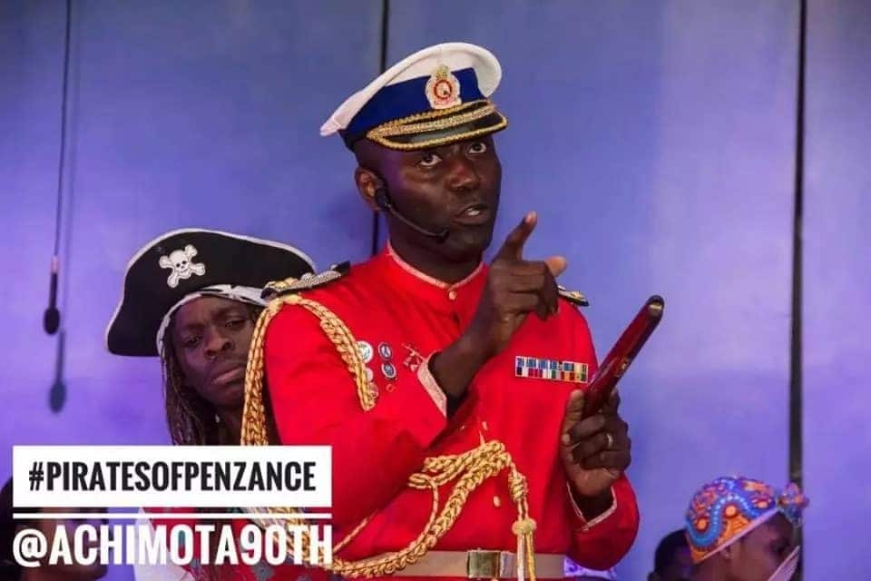 Achimota @90: Akufo-Addo and wife enjoy 'The Pirate of Penzance' as performed by Old Achimotans