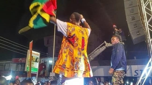 Patapaa, Kwaw Kese shake the stage at TV3 at 20 concert