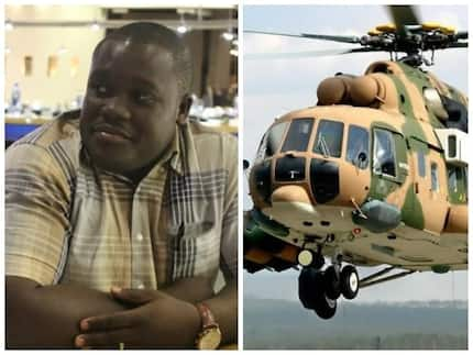 Mocking the critics - Sam George ridicules critics of decision to park Ghana Gas helicopters with air force