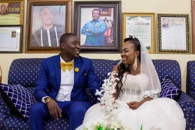 UTV's newscaster Afia Akyere finds love as she ties the knot