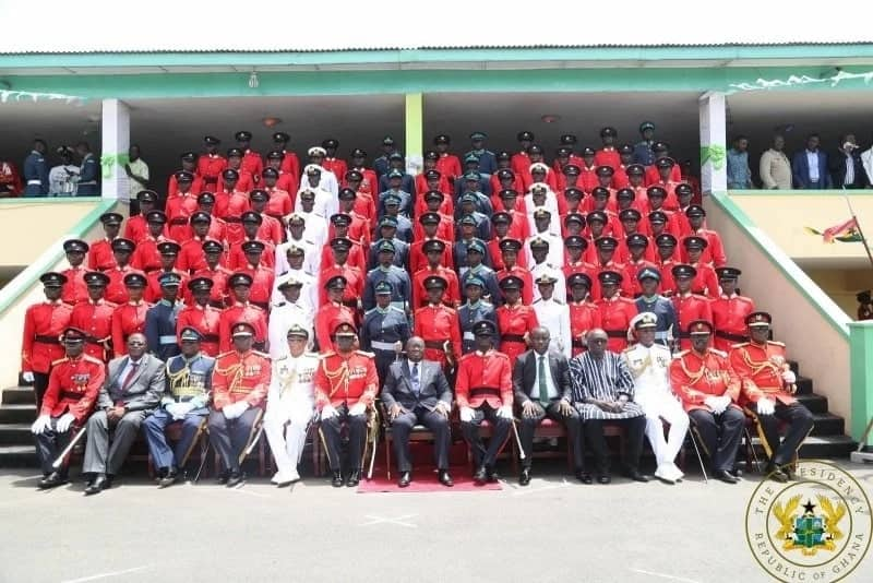 Nana Addo commissions new cadet officers into Armed Forces