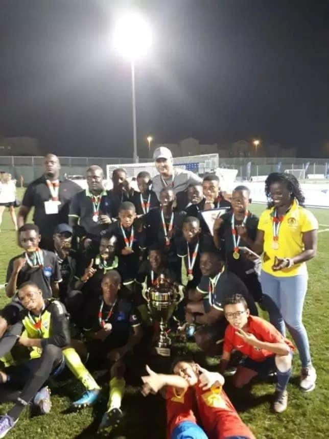 Lizzy Sports Academy team beats Real Madrid side to win Dubai International Cup