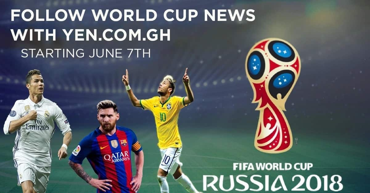 How to catch every moment of the FIFA World Cup 2018 on YEN.com.gh!