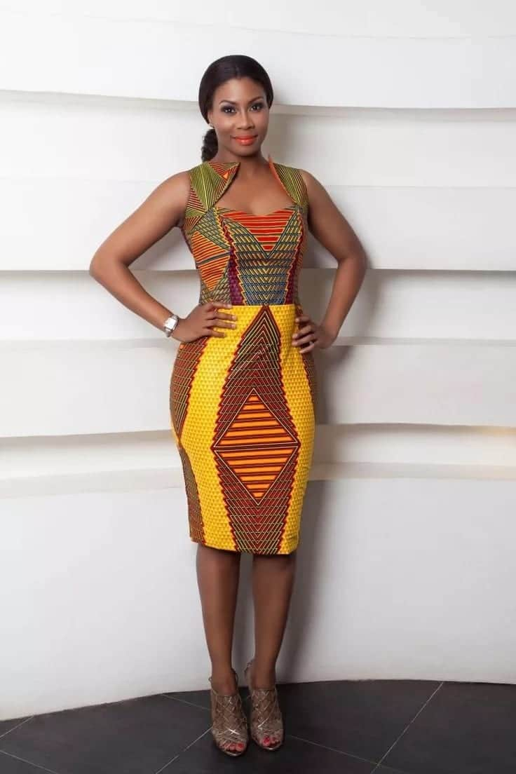 a5263135d32 Latest African Print Styles For Ladies in 2019 ▷ YEN.COM.GH