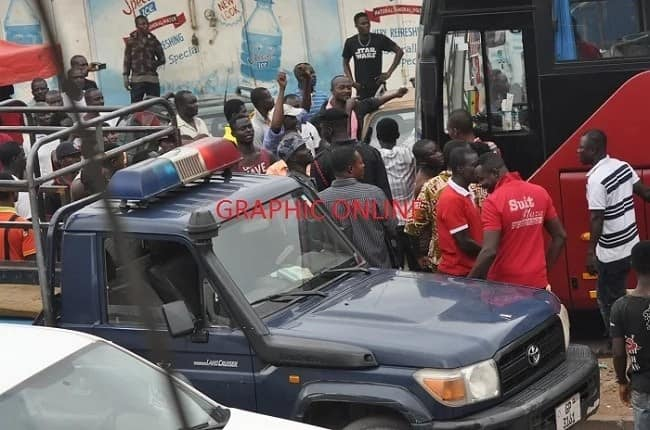 Operators of VIP fight Inter-City STC over Kumasi bus terminal