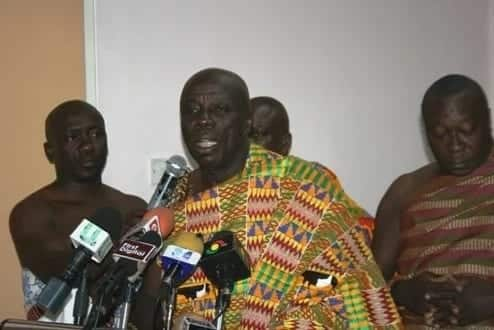 Okyenhene reacts to Stan Dogbe's attack on him