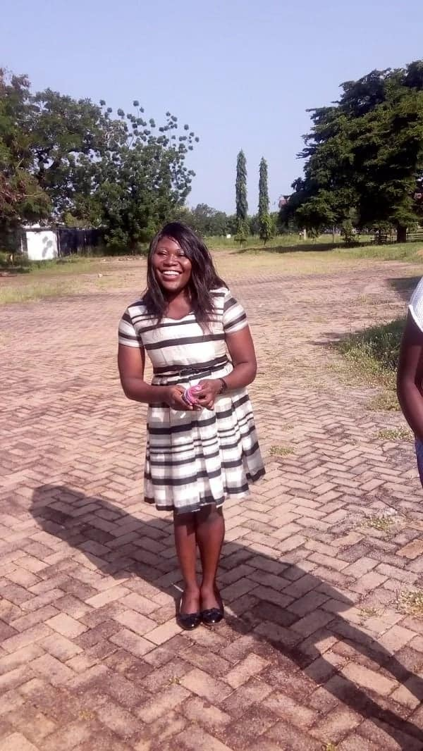 Joanna Gunab the physically challenged Medical Student to win first ever Karoeke contest