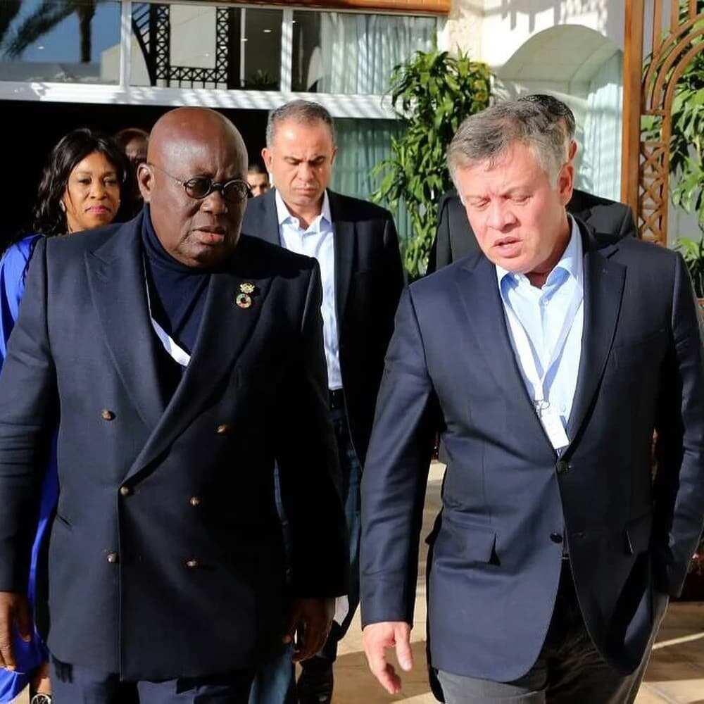 President Akufo Addo meets Jordanian King