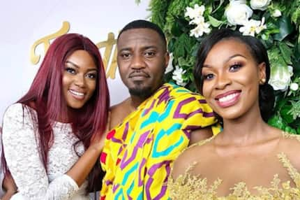 You didn't post your own daughter to the world for months - Fans blast Yvonne Nelson over Dumelo's son