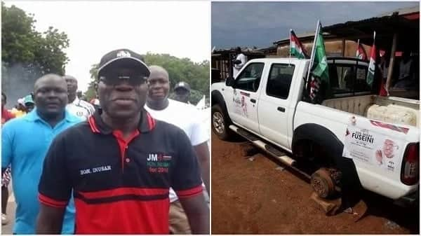 Angry Tamale voters 'chase' NDC minister over failed promises