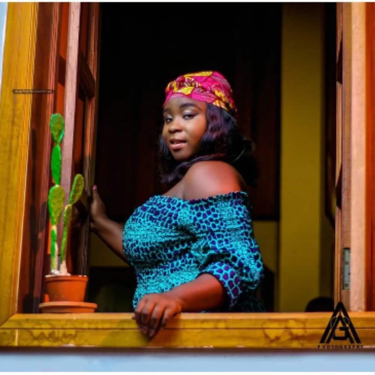 Maame Serwaa glows in her latest pictures
