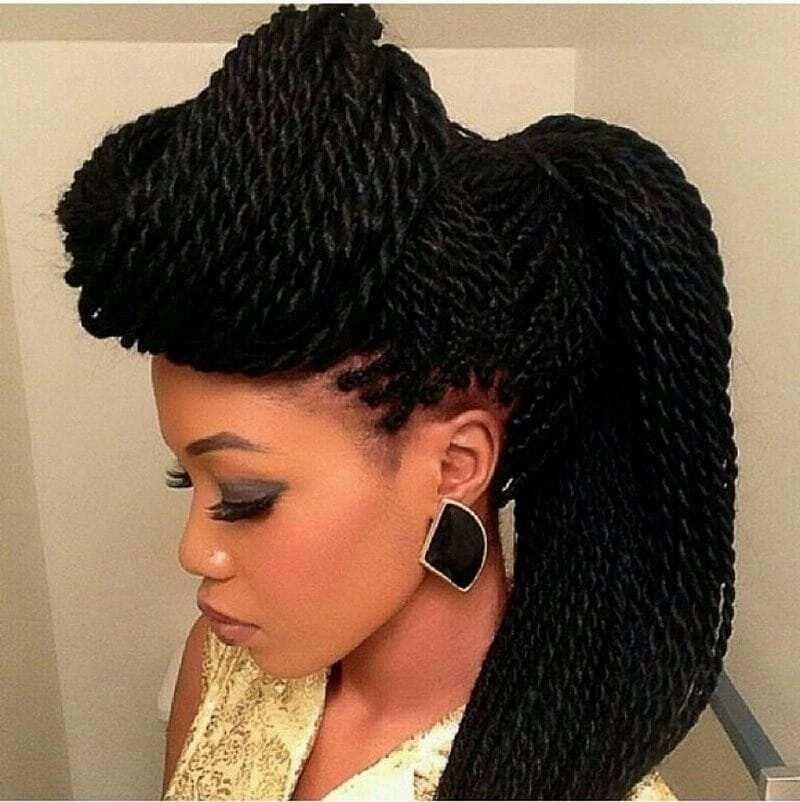 Kinky Braid Hairstyles In Nigeria Yen Com Gh