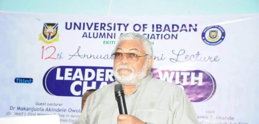 Fight against corruption not supposed to make life harder - Rawlings
