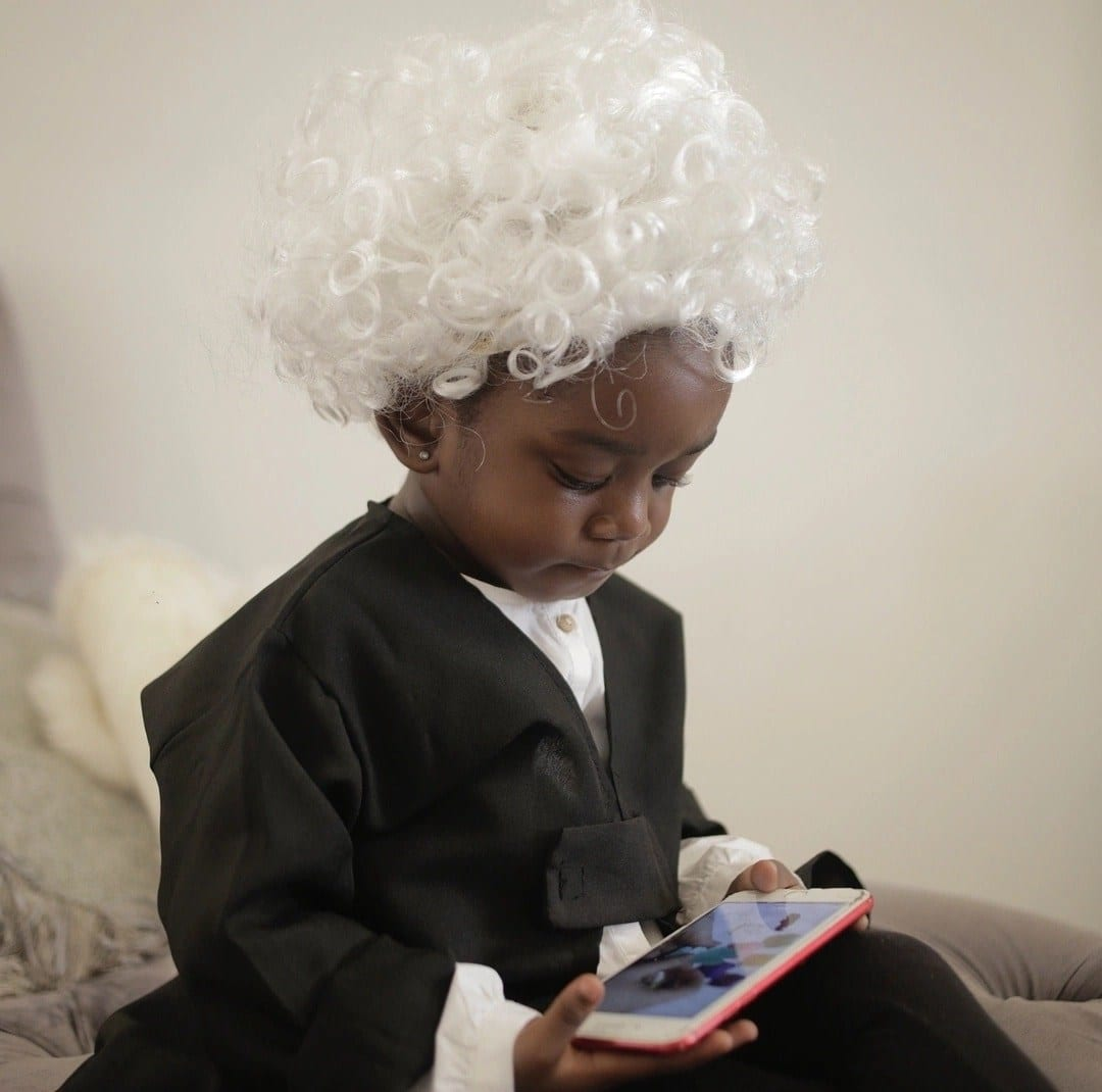 Photos: Sarkodie's daughter Titi is the new lawyer in town