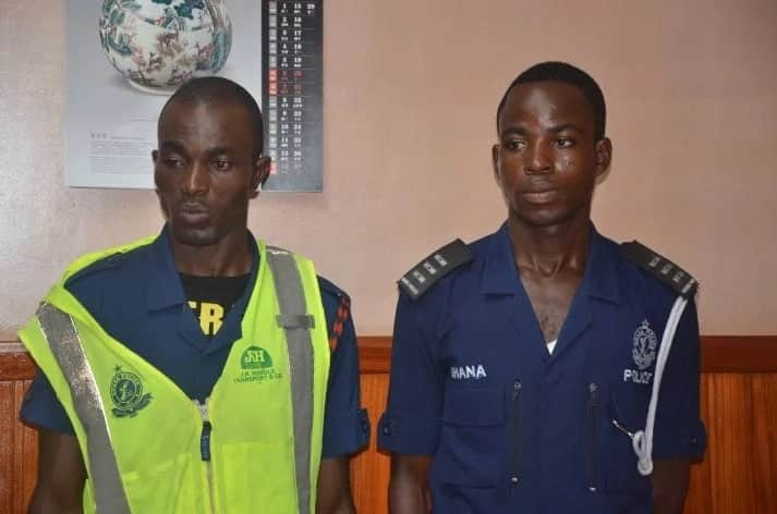 Two Police officers arrested for unauthorised checkpoint