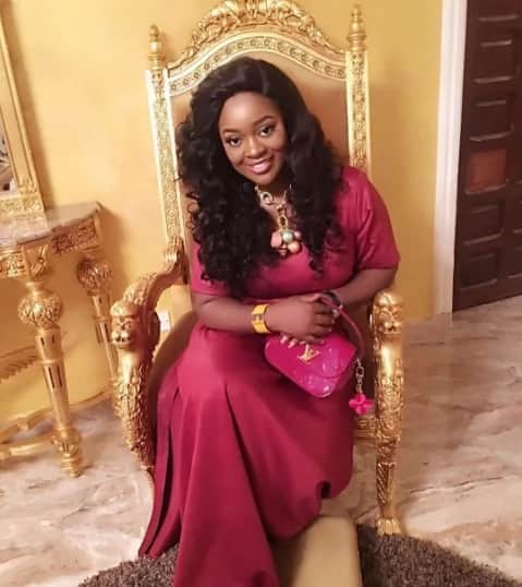 Jackie Appiah has a beautiful smile for her fans as she shares her latest photo