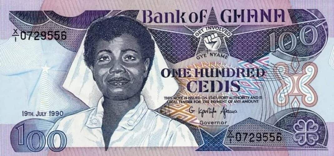 Meet the one on the 100 cedi note