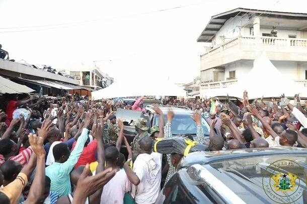 All the pictures we gathered from Nana Addo's 3 day tour in Accra