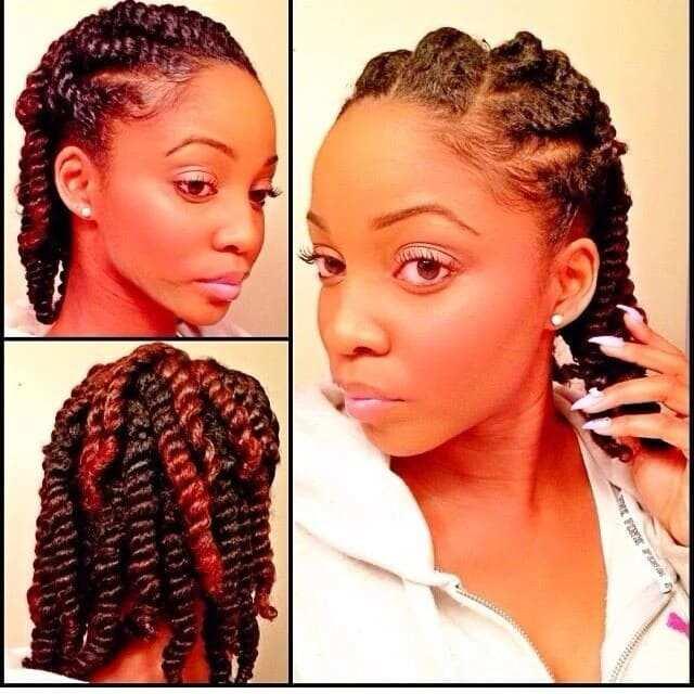 kinky braids hairstyles in nigeria, kinky braids, kinky twists