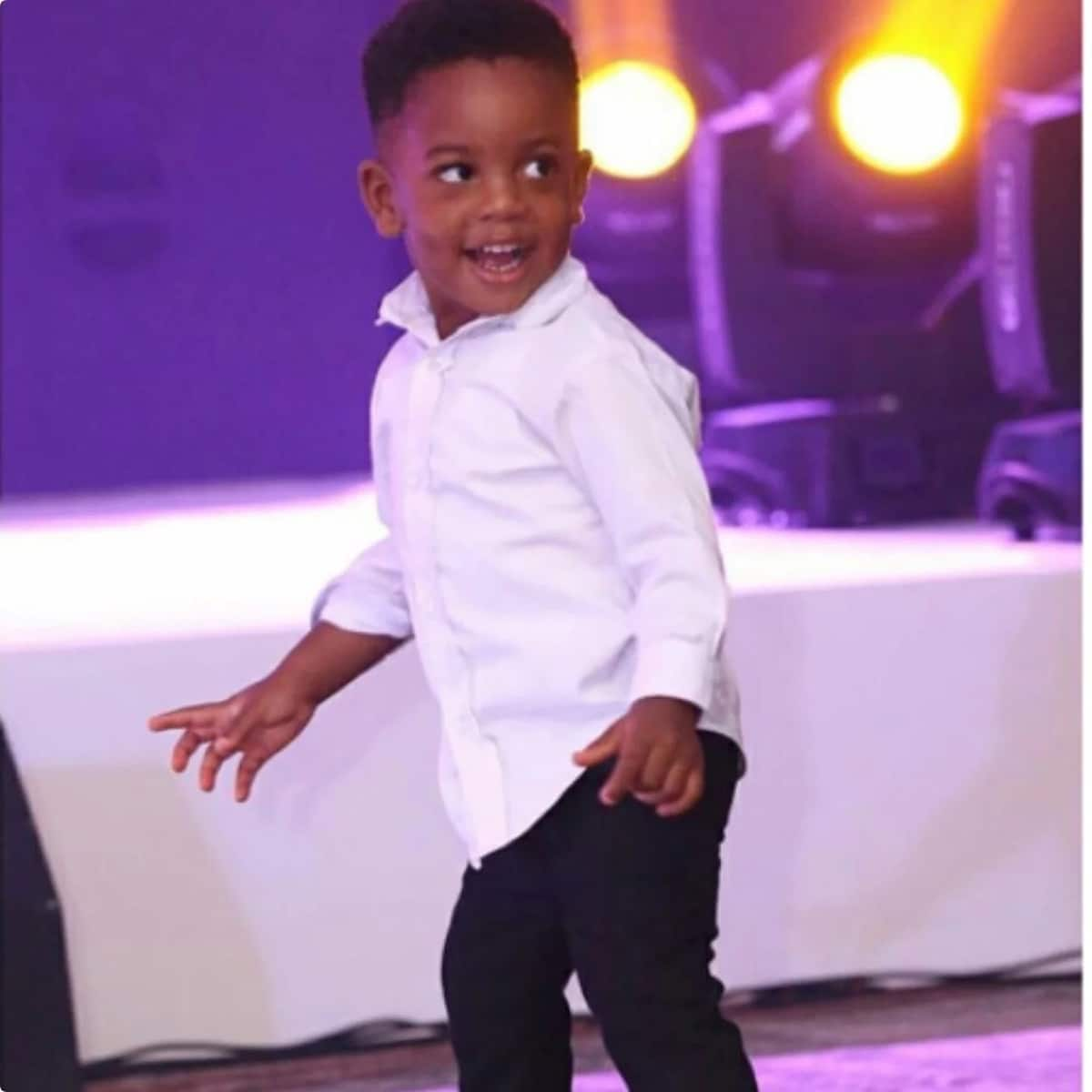 Menaye Donkor shows off her adorable son who is all grown up now