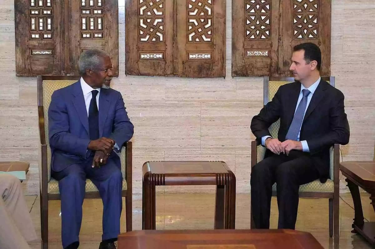 Kofi Annan in pictures