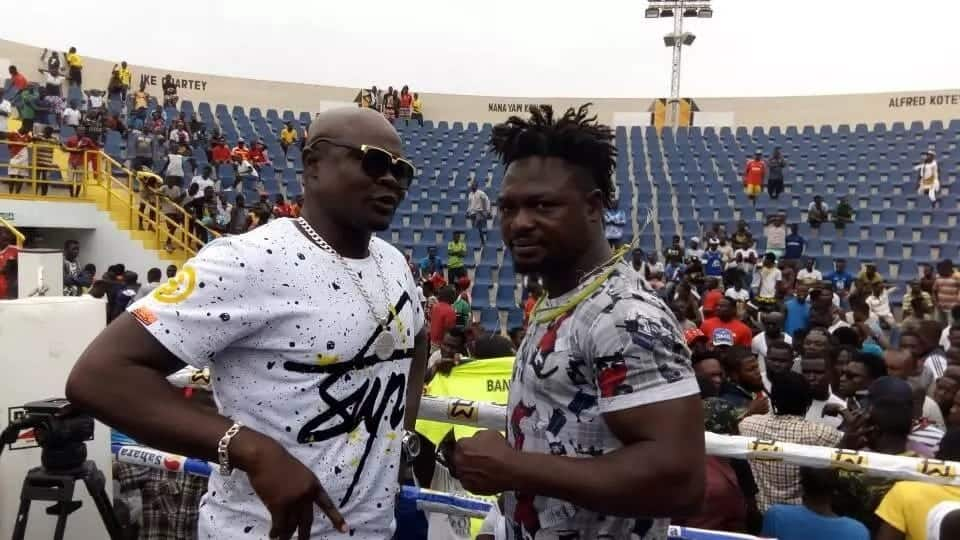 Bastie Samir, Bukom Banku agree on Tamale as venue for rematch