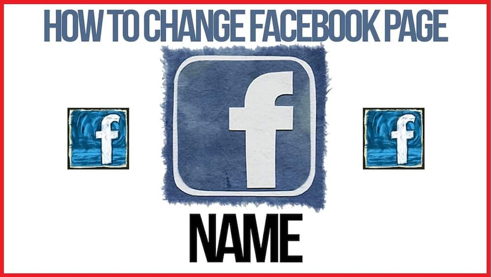 How to change Facebook page name ▷ YEN COM GH