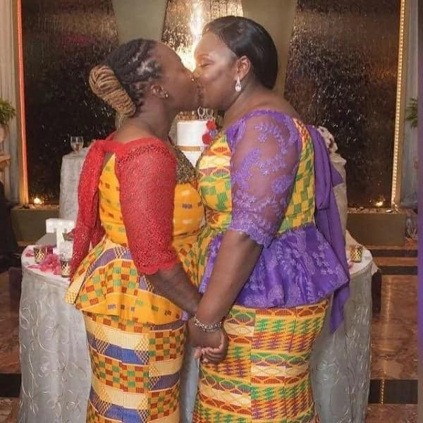 Ghanaian lesbian couple tie the knot in Holland