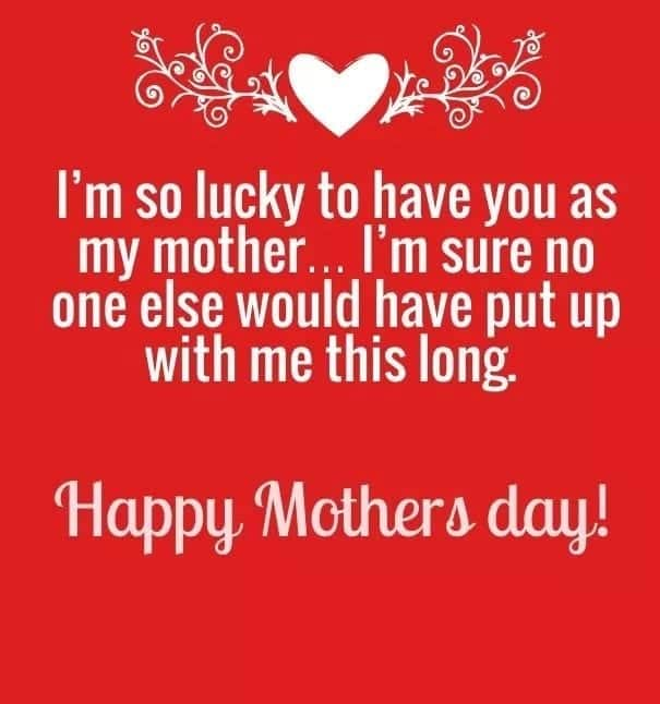 sweet mothers day quotes from daughter
