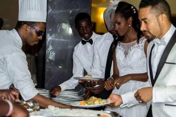 Ghanaian Actor Majid Michel Wedding and Wedding Renewal Pictures
