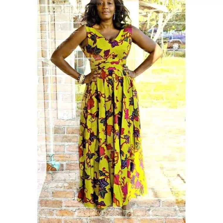 15 best African dress designs 2018