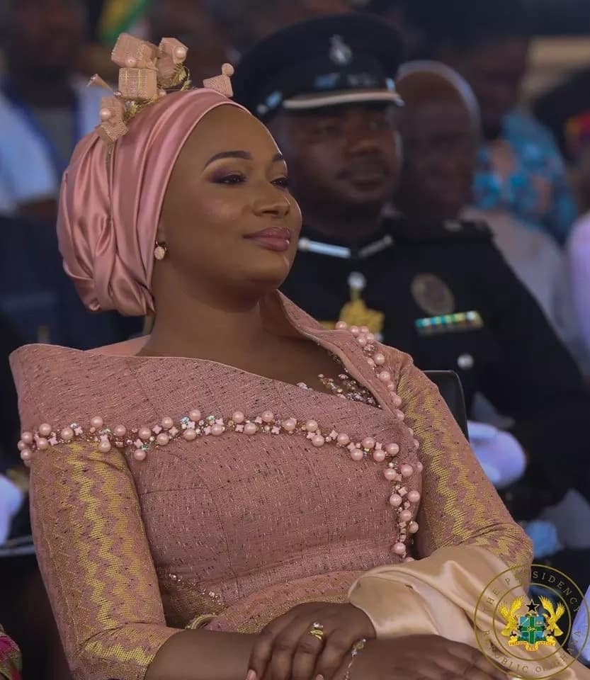 Did Samira Bawumia overdress at 61st Independence parade?