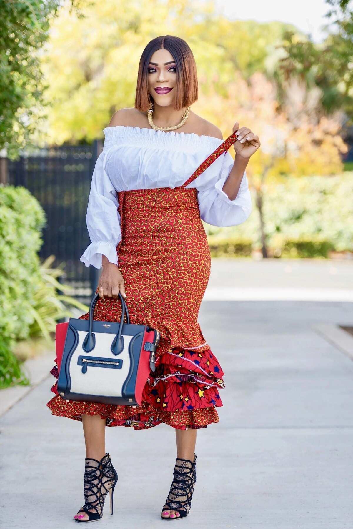 latest skirt and blouse designs, ankara skirt and blouse, ankara blouses