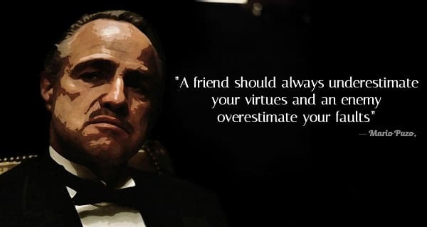 Famous gangster quotes with images ▷ YEN.COM.GH