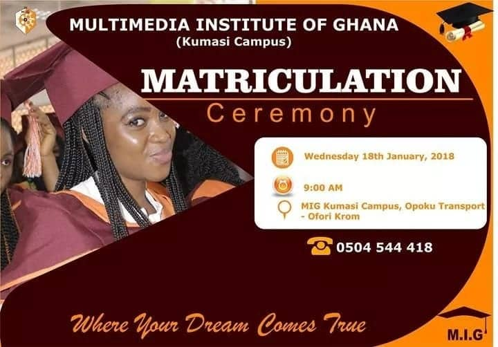 courses offered at multimedia institute of ghana where is multimedia institute of ghana located fees of multimedia institute of ghana programs offered at multimedia institute of ghana