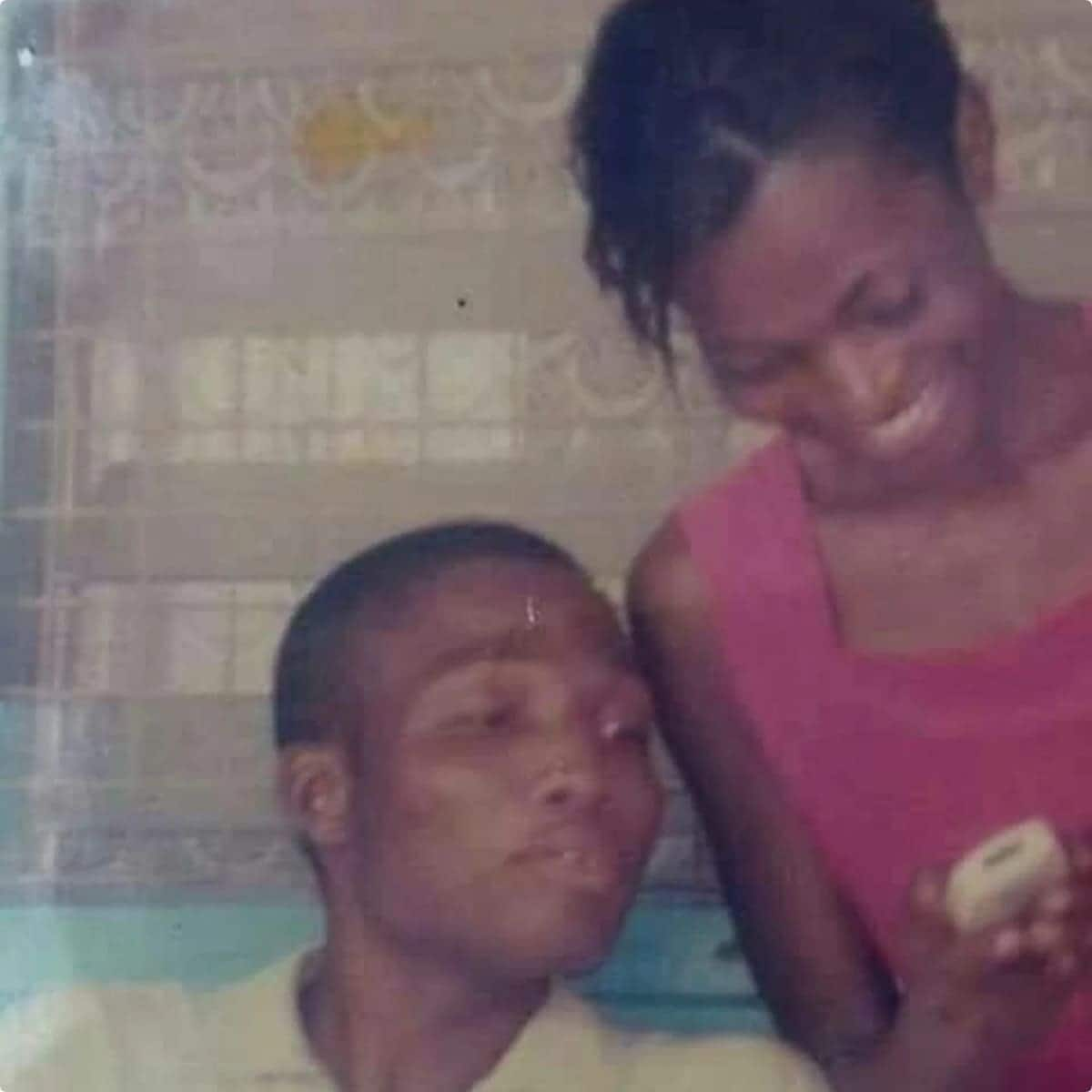The old picture of Okudzeto Ablakwa that is causing a stir on social media