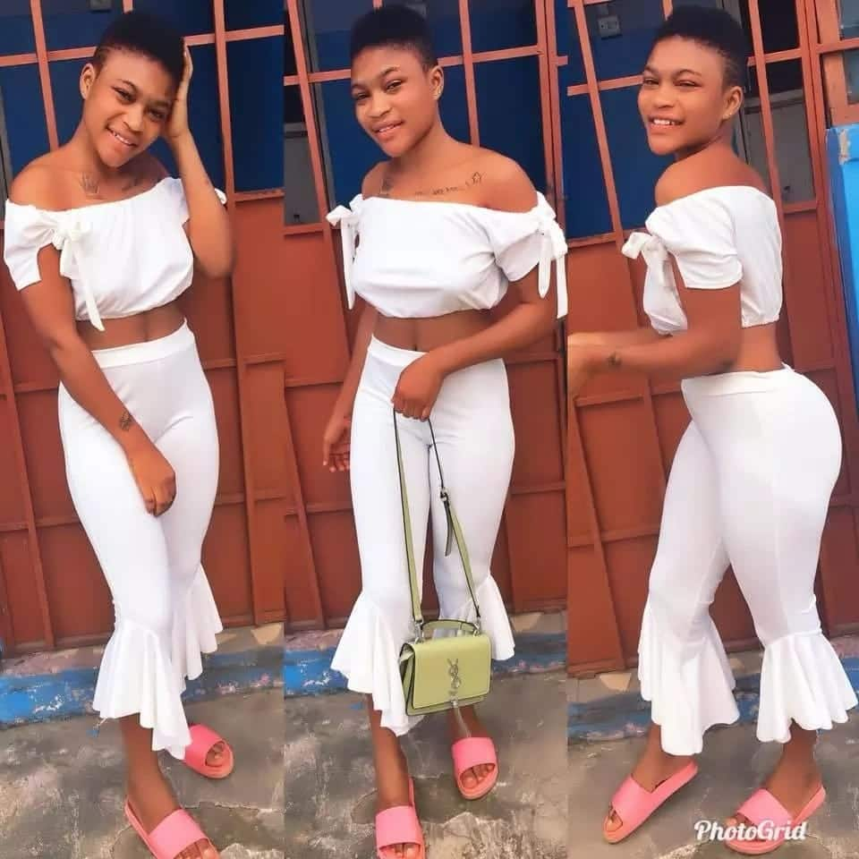 """See photos of Asaawa GH, the """"lover boy"""" over whom Akosua Sika received the beatings of her life"""