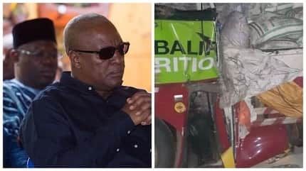 Asante Kotoko reels in pain and shock as Mahama begs Ghanaians to say a prayer for accident victims